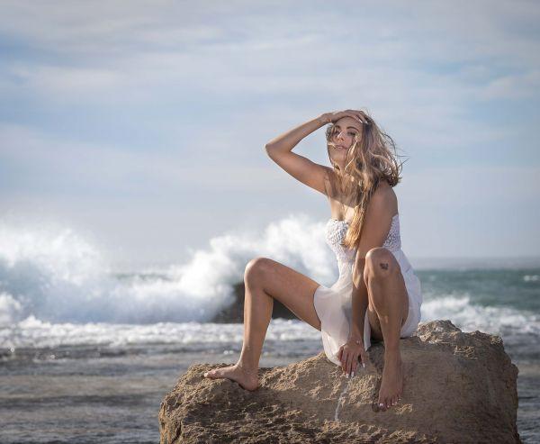 Mallorca Strand Fotoshooting mit Svenja Es Trenc